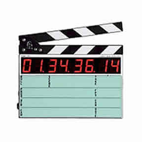 Timecode slates and generators